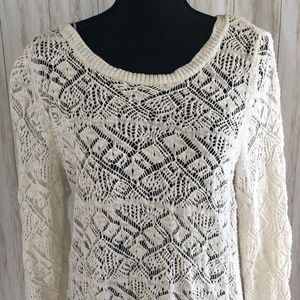 """Winter White"" Lauren Conrad Sweater"